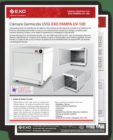 tapa brochure Cámara Germicida PAMPA EXO