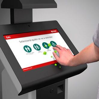 Módulo germicida Auto Cleaner EXO para desinfección de pantallas touch
