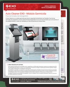tapa brochure Módulo Germicida Auto Cleaner EXO
