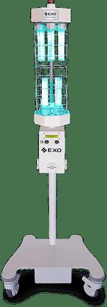 ANDES UV-165 Unidad germicida móvil de luz ultravioleta germicida