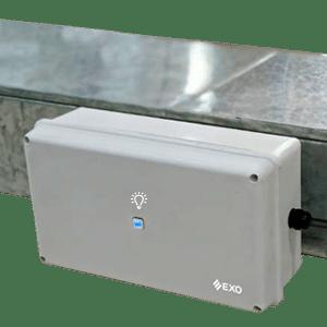 Sanitizante PAMPERO emisor de luz UV para ductos de ventilación