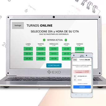 Solución de agenda de turnos web para la gestión de turnos online